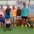 (da sin.) Cristian,Mario,Sergio,Claudio,Daniele